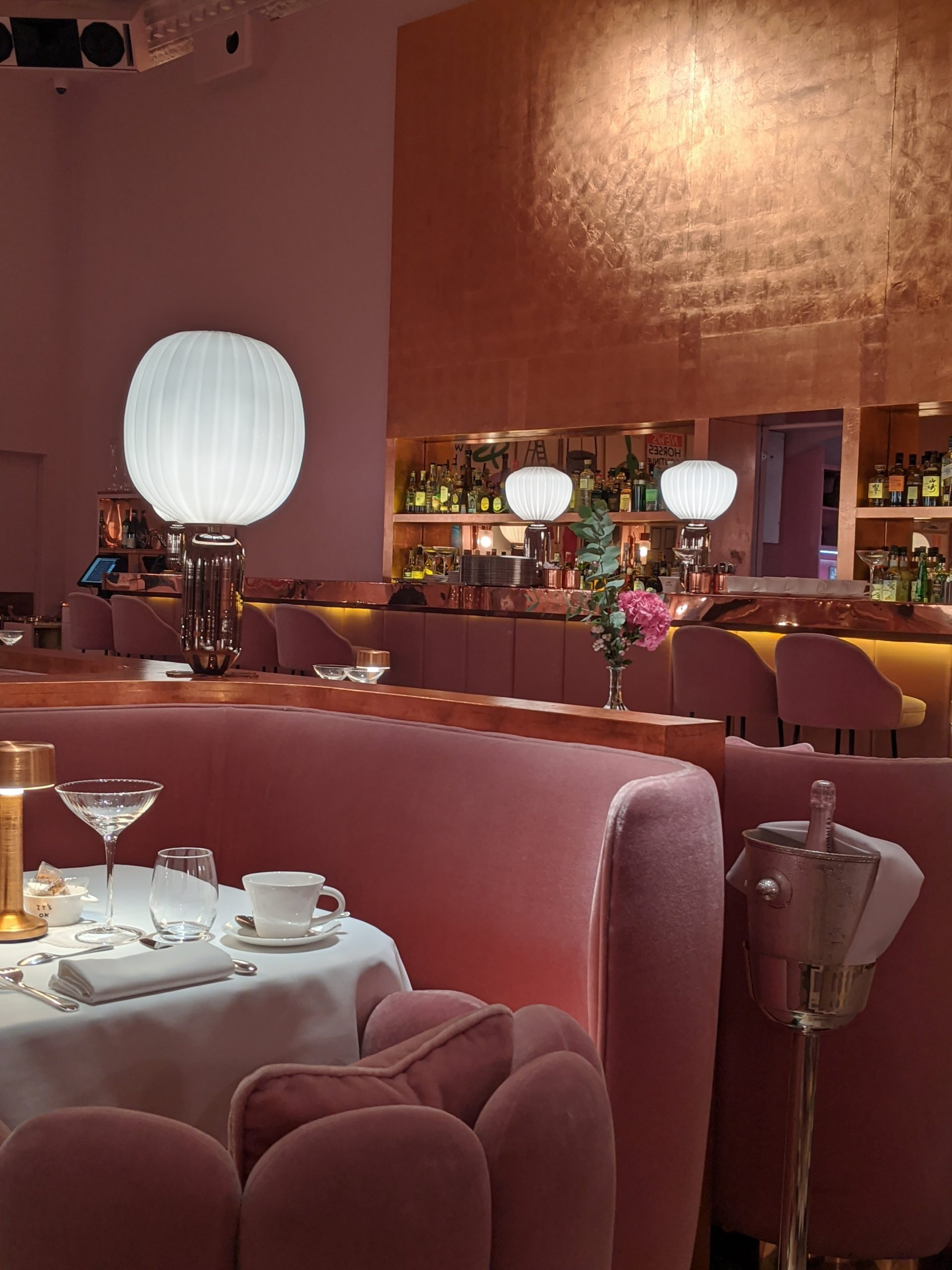 Sketch London- Afternoon Tea in the Pink Room