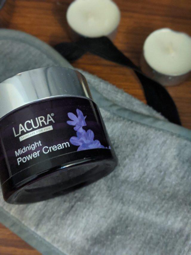 Lacura midnight power night cream
