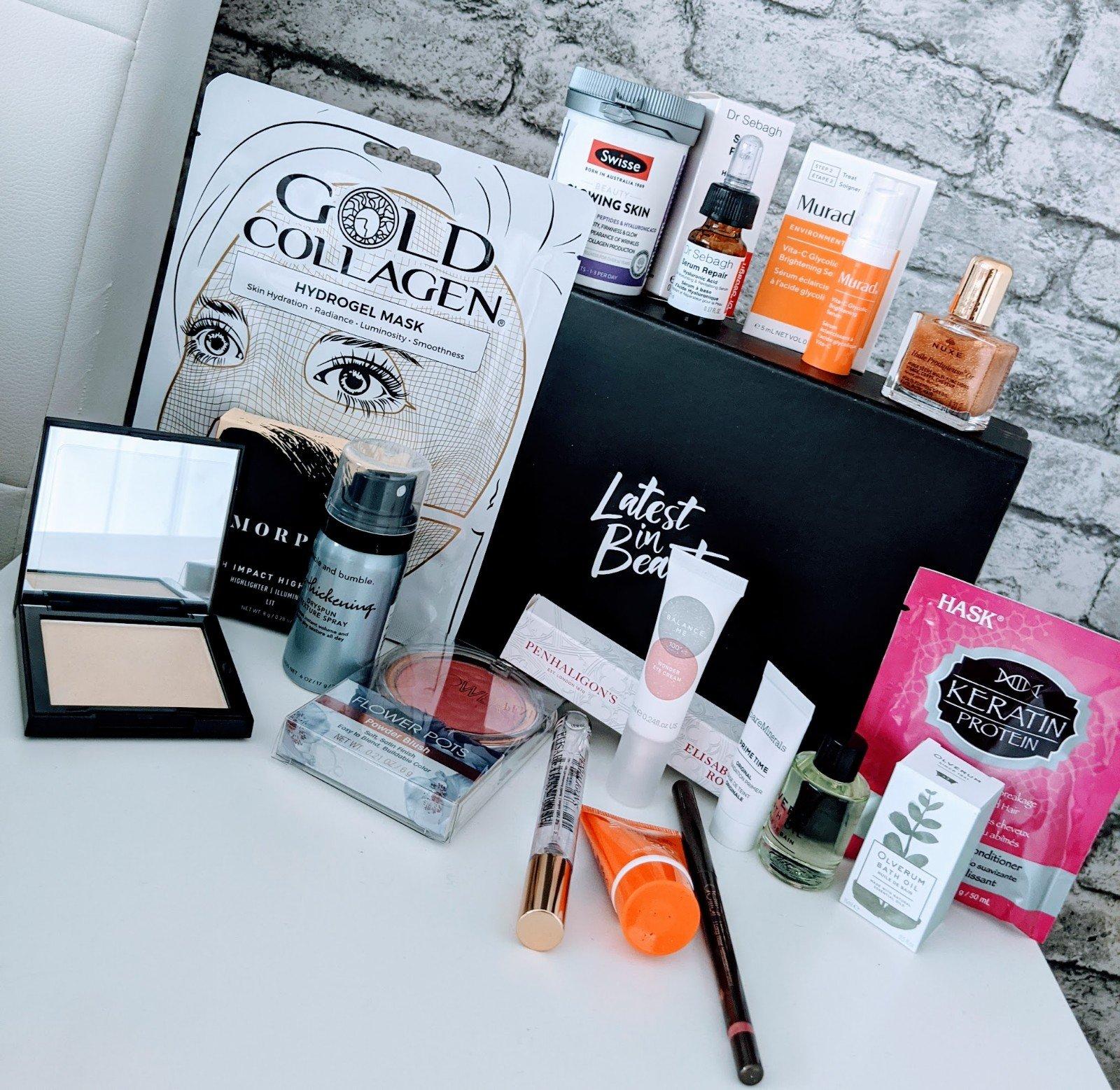 Latest in Beauty Hello! Celebrity Glow Getters Box.
