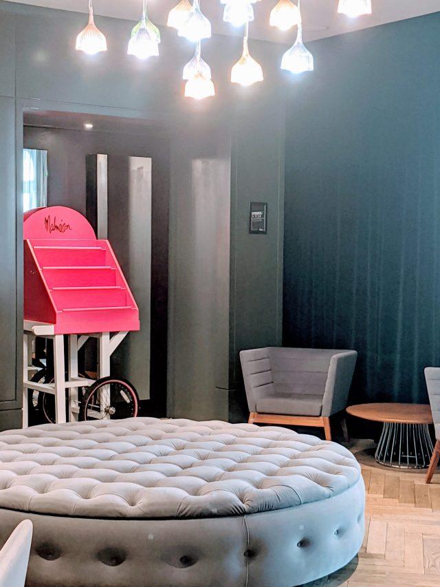 The Malmaison Hotel London reception area