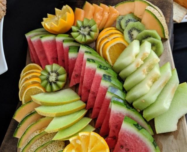 brunch with girls idea- fruit platter.