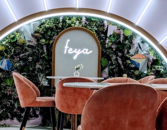 Feya Cafe London- Quite possibly the Prettiest Cafe in London