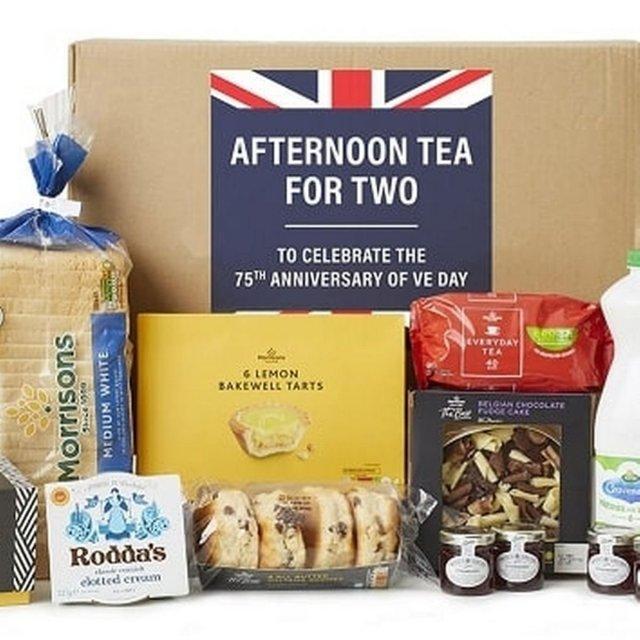 Morrisons Afternoon Tea Food box
