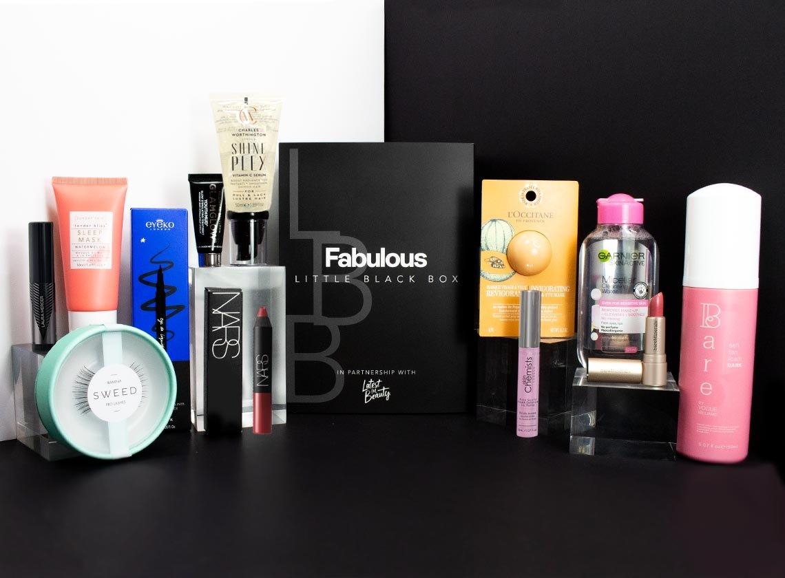 Latest in Beauty,  'Fabulous Little Black Box'.