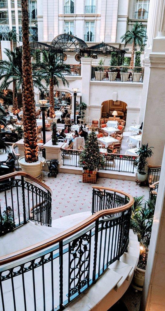 landmark hotel afternoon tea