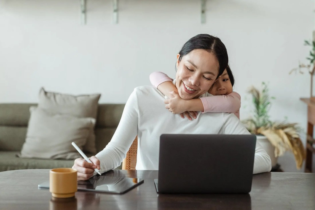 Tips For Working From Home With Kids.