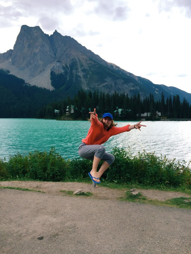 Spidey Girl by Emerald Lake- Taken by Maria