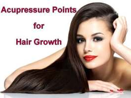 Acupressure Points for Hair Growth