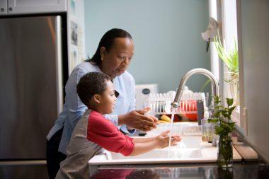 wash hands immunity
