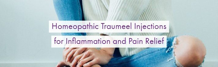 Homeopathic Traumeel Injections for Inflammation and Pain Relief