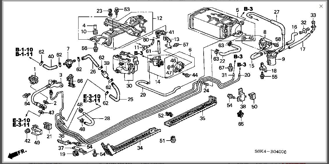 Diagram Tl Parts 2010 Acura