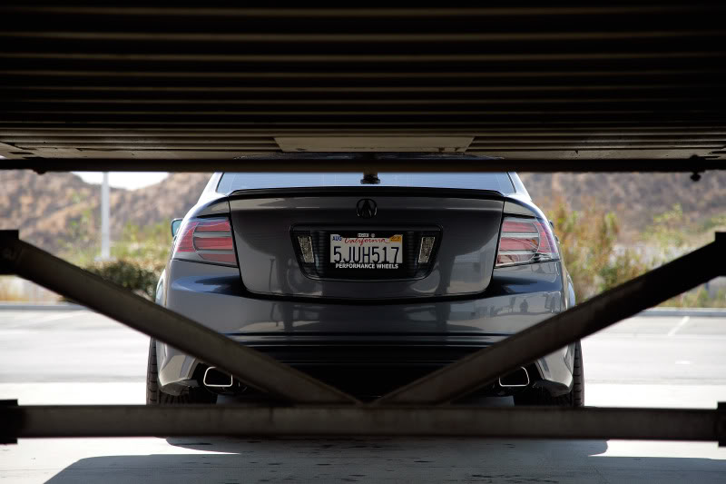 pics of exhaust tips on your 3g tl