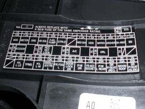 which fuse did I blow?  AcuraZine  Acura Enthusiast Community