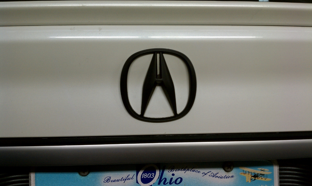 08 Acura Tl Front Grill Black