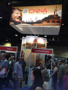 Booth for the China National Tourism Office