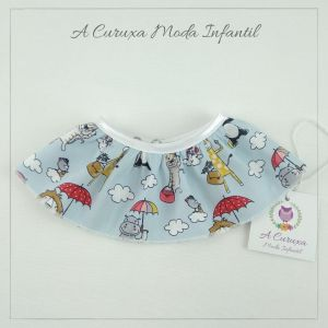 "Cuello ""quita y pon"" Animales Poppins"
