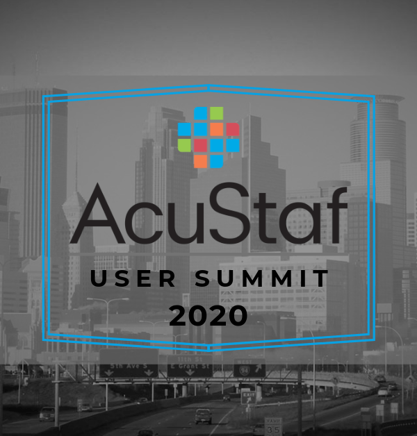 AcuStaf User Summit 2020