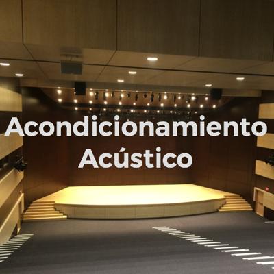 Acondicionamiento acústico colombia