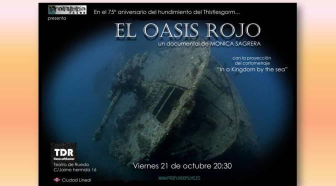 """Estreno del documental """"El Oasis Rojo"""" por Mónica Alonso Ruiz"""