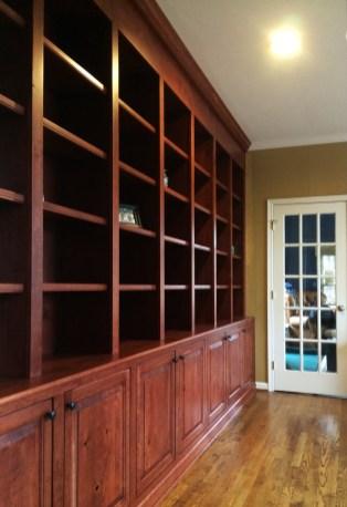 Rustic bookcases