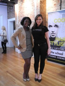 Posing with the lovely Ryann Marie Doyle, Special Projects Director & Lead Image Consultant at Polished by Tu-Anh