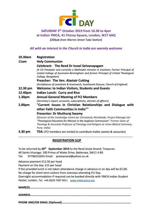 FCI day programme image