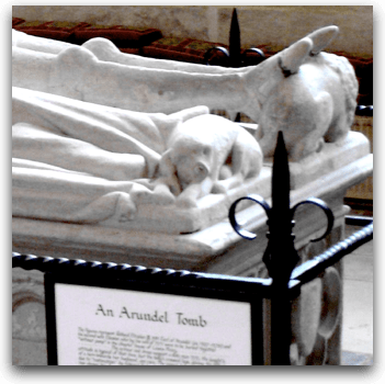 Arundel Tomb dogs - credit Photoverulam