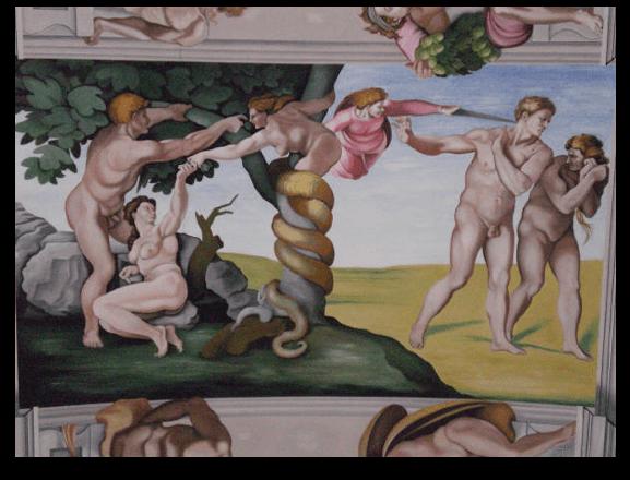 The Fall - Goring Sistine Chapel