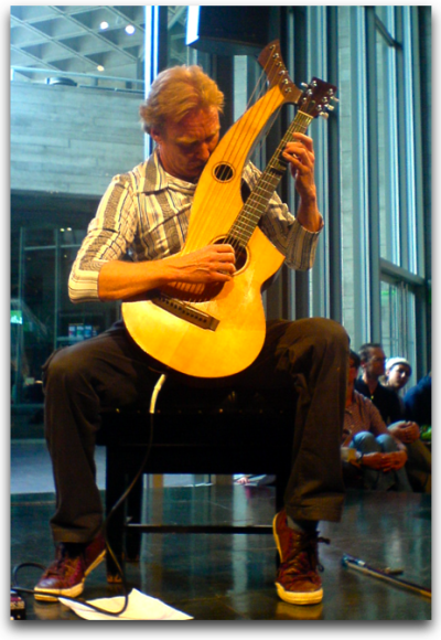 Jason Carter and the Harp-Guitar
