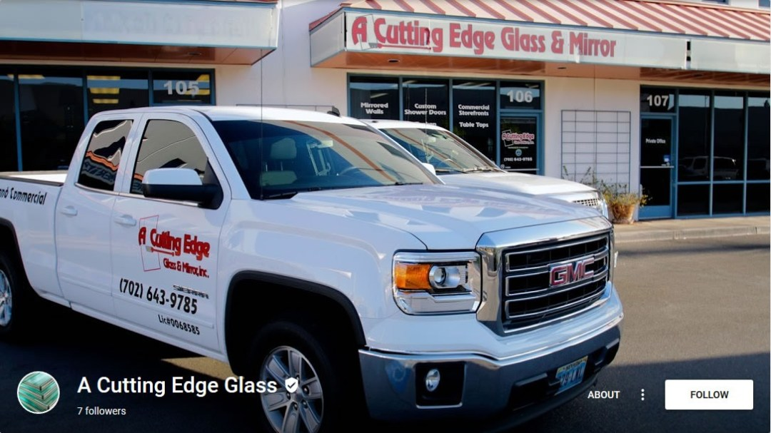 A Cutting Edge Glass & Mirror - Google Plus Profile Photo