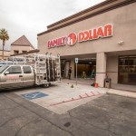 Family Dollar Commercial Glass Storefront Project - Las Vegas, Nevada