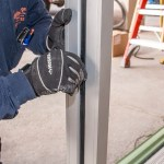 Close-up Vinyl Seal Installation - Family Dollar Commercial Storefront Installation