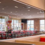 Low-E Commercial Glass Installation - Peter Piper Pizza Location Mccarran Marketplace Shopping Center