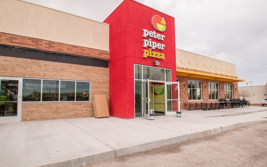 Peter Piper Pizza – Commercial Glass Storefront Project