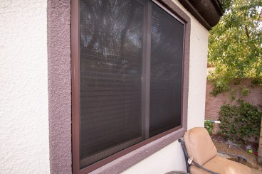 After Guarda Security Screen Install