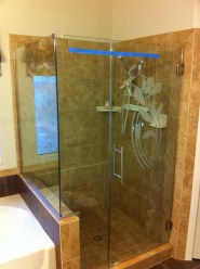 Custom Glass Design Shower Door Enclosure System - A Cutting Edge Glass & Mirror of Las Vegas, Nevada