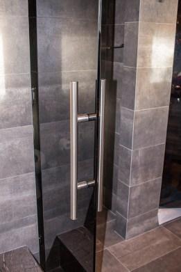 Dark Grey Shower Door Handle