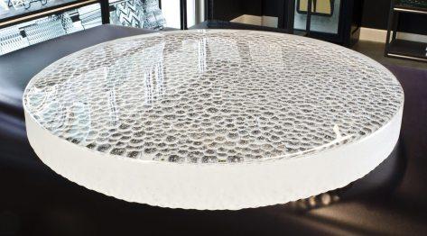Caldera Glasstops - Bar Top, Table Top Glasstop Textured Glass