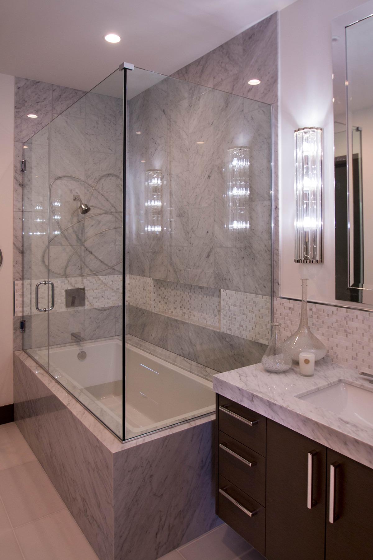 Frameless Glass Shower Doors A Cutting Edge Glass Mirror