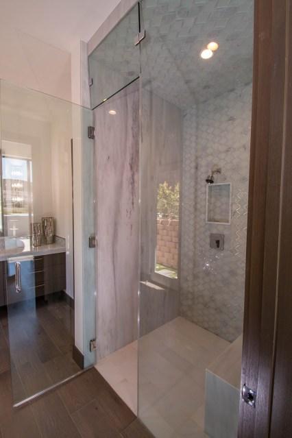 Open Shower Door - Frameless Shower Door Enclosure System