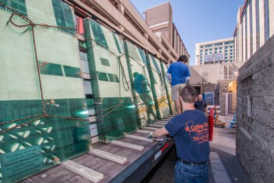 A Cutting Edge Glass & Mirror - California Hotel Project Glass