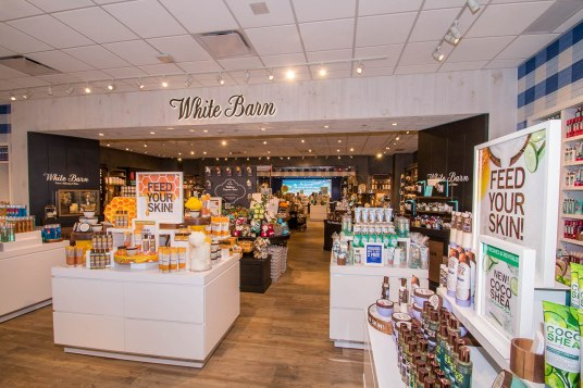 Interior of Bath & Body Works