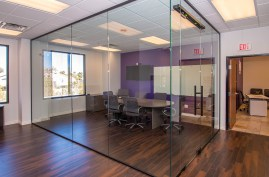 Marsys Law Interior - Commercial Heavy Glass Wall