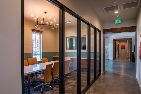Interior Commercial Divider Glass