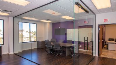 Marsys Law Offices - Heavy Glass Wall Dividers