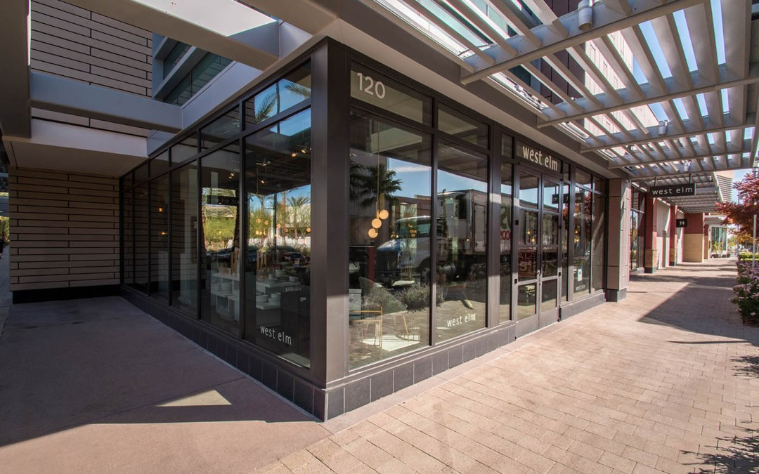 West Elm – Commercial Glass Storefront