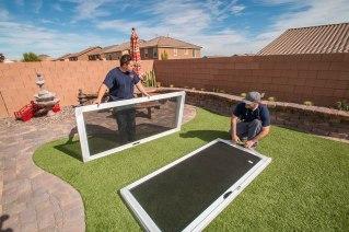 Assembling Security Screen for Sliding Glass Door