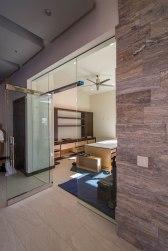 Custom Office Heavy Glass Door