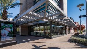 Southwest Corner of West Elm Commercial - Storefront Inside Downtown Summerlin Mall