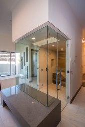 Sunwest Custom Home Frameless Shower Door Enclosure System